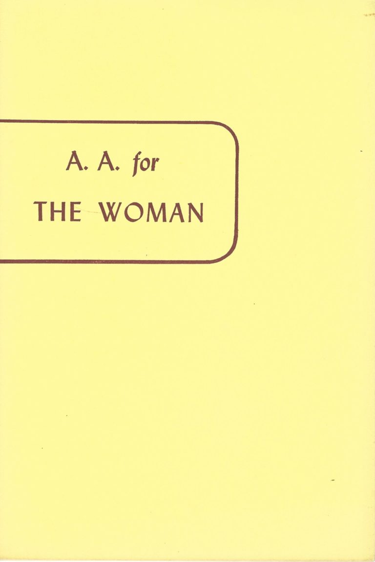 AA for the Woman