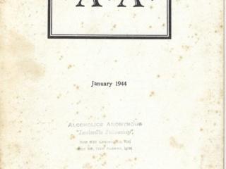 """""""A.A."""" Pamphlet January 1944"""