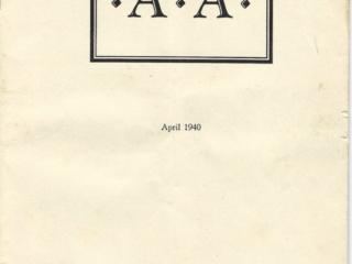 Houston Press AA Pamphlet