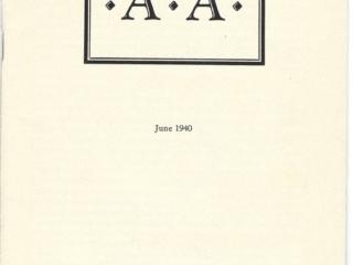 Houston Press AA Pamphlet June 1940