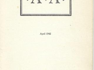 Houston Press AA Pamphlet April 1942