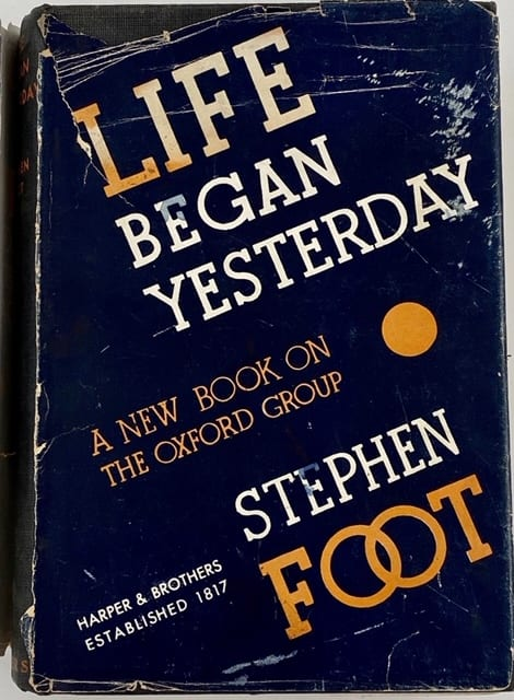 Life Began Yesterday by Stephen Foot