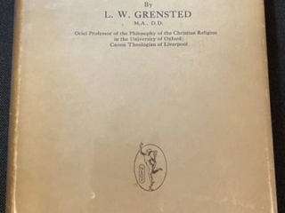 The Person of Christ by L.W. Grensted