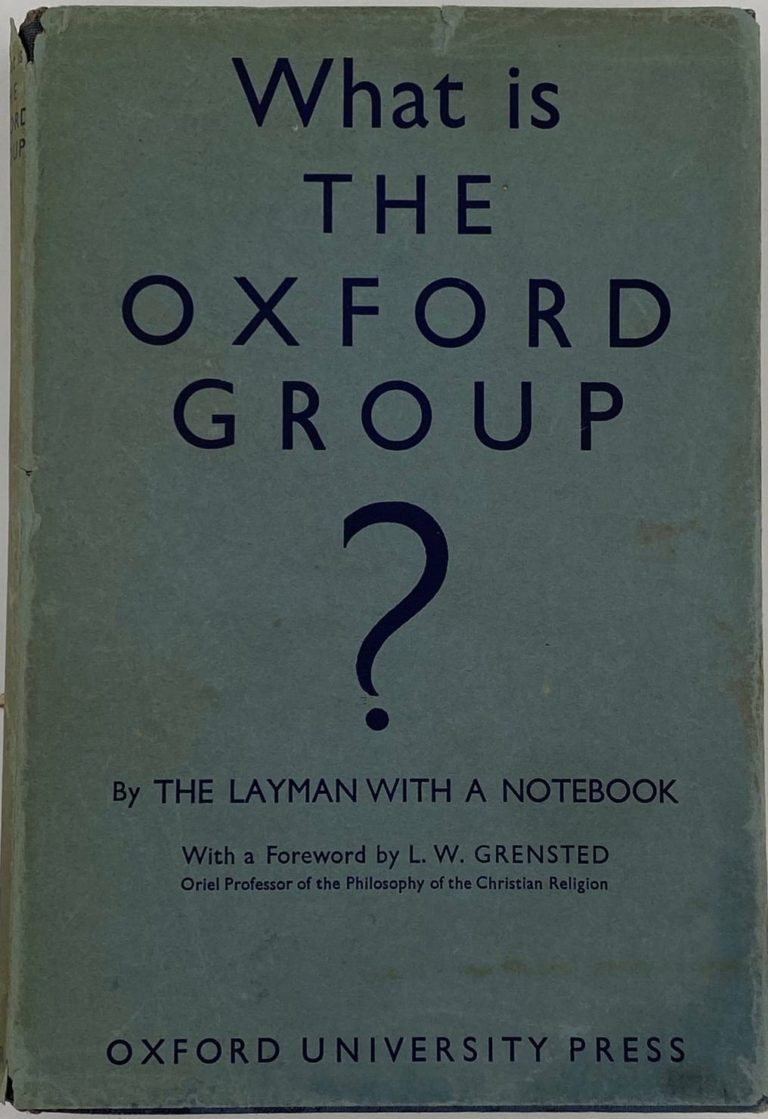 What is the Oxford Group?